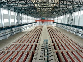 关铝集团12万吨/年炭素筑炉工程