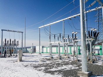 66kv阿尔山变电站增容扩建工程