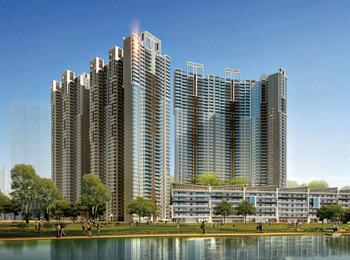 广州肇庆恒裕城超高层建筑