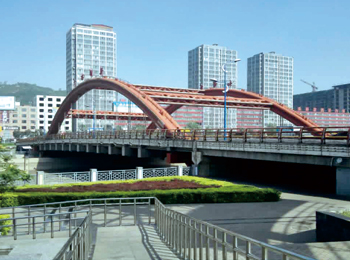吕梁市北川河长治路大桥