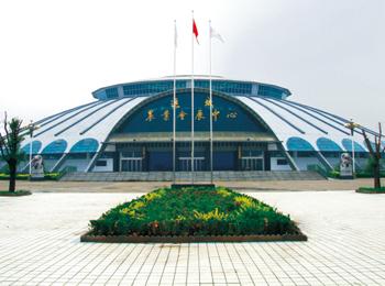 运城农展馆网架工程