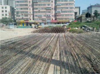太原万达广场商业综合体桩基工程